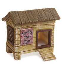 Miniature Fairy Garden Coop | Miniature Fairy Garden Farm | Chicken Hutch
