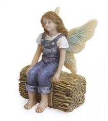 Miniature Fairy Garden Fairy | Miniature Fairy Garden Statue | Farm Fairy Jess