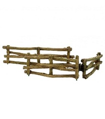 Miniature Fairy Garden Cottage Wooden Fence