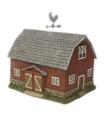 Cottage Barn | Fairy Garden Farm House | Miniature Farm
