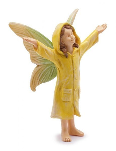 Miniature Fairy Garden Fairy - Miniature Fairy Garden Statue - Rainy Day Fairy
