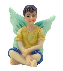 Miniature Fairy Garden Fairy | Miniature Fairy Garden Statue | Fairy Boy