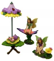 Flower Solar Tea Party Set