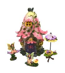 Pink Flower LED Tea Party Set