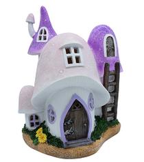 Pink Mushroom Solar Cottage
