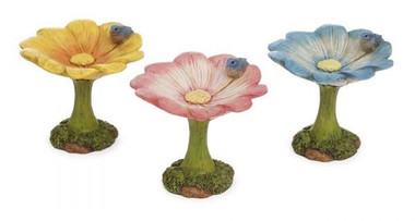 Miniature Fairy Garden Accessories | Miniature Fairy Garden Australia | Flower Bird Bath