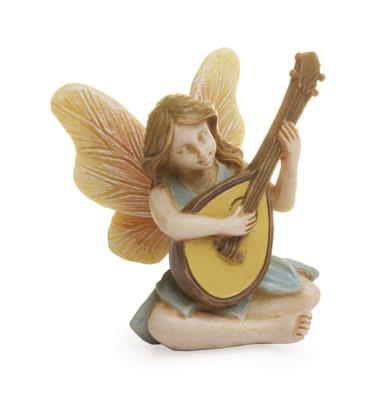 Miniature Fairy Garden Fairy | Miniature Fairy Garden Statue | Guitar Fairy
