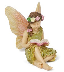 Miniature Fairy Garden Fairy | Miniature Fairy Garden Statue | A Good Read