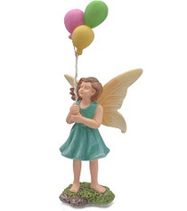 Miniature Fairy Garden Fairy | Miniature Fairy Garden Statue |  Balloon Fairy