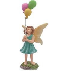 Miniature Fairy Garden Fairy | Miniature Fairy Garden Statue |  Balloon Fairy