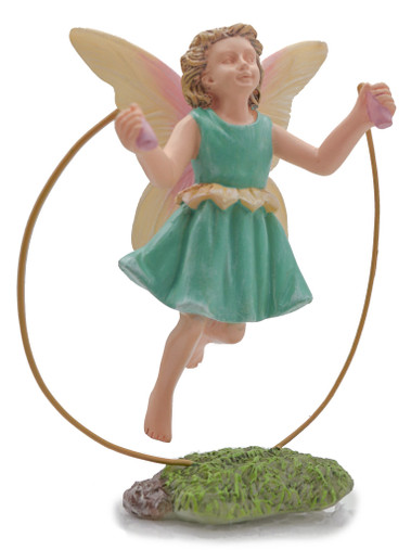 Miniature Fairy Garden Fairy | Miniature Fairy Garden Statue |  Skipping Fairy