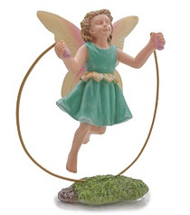 Miniature Fairy Garden Fairy | Miniature Fairy Garden Statue |  Skipping Fairy
