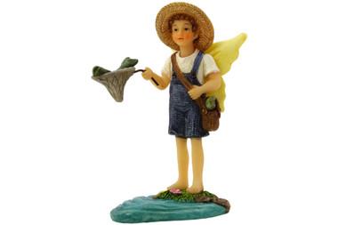 Miniature Fairy Garden Fairy | Miniature Fairy Garden Statue | Fairy Logan