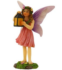 Miniature Fairy Garden Fairy | Miniature Fairy Garden Statue | Skylar and Lantern
