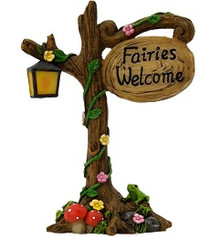 Miniature Fairy Garden | Miniature Fairy Garden Accessories | Fairies Welcome