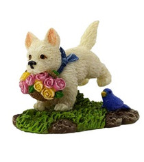 Miniature Fairy Garden Chickens | Miniature Fairy Garden | Puppy Charlie