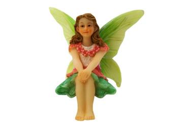 Miniature Fairy Garden Fairy | Miniature Fairy Garden Statue | Fairy Leah
