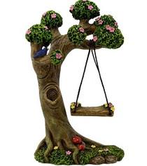Miniature Fairy Garden Accessories | Miniature Fairy Garden Australia | Tree Stump Swing