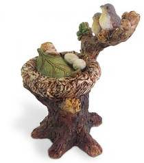 Miniature Fairy Garden Fairy | Miniature Fairy Garden Statue | Babysitting