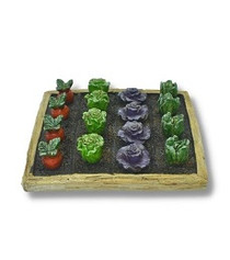 Miniature Fairy Garden Veggie Patch | Miniature Fairy Garden Veggies | Time To Garden