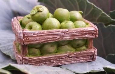 Miniature Fairy Garden Apple | Miniature Fairy Garden Accessories | Apple Harvest
