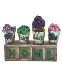 Miniature Fairy Garden Pots | Miniature Fairy Garden Accessories | Home Potted Garden