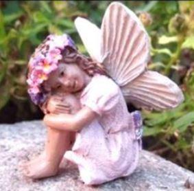 Miniature Fairy Garden Fairy   Miniature Fairy Garden Statue   Fairy Gabbie