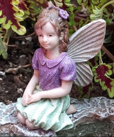 Miniature Fairy Garden Fairy   Miniature Fairy Garden Statue   Fairy Katy