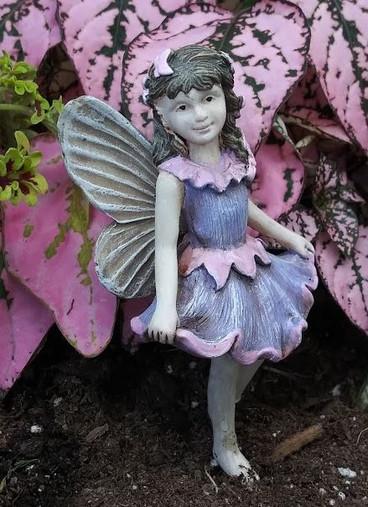 Miniature Fairy Garden Fairy | Miniature Fairy Garden Statue | Fairy Angela