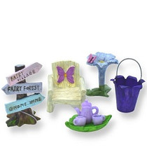 Purple Fairy Accessories | Fairy Garden Kit | Fairy Kits Australia
