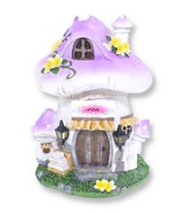 Miniature Fairy Garden Solar | Miniature Fairy Garden Houses | Solar Fairy Spa