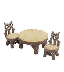 Miniature Fairy Garden Bistro | Miniature Fairy Garden Furniture | Heart Bistro Set