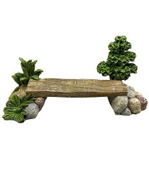 Wooden Bridge Path - Fairy Garden Bridge - Fairytale Gardens Australia
