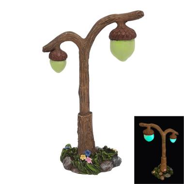 Miniature Fairy Garden Lamp | Miniature Fairy Garden Accessories | Glowing Acorn Street Lamp