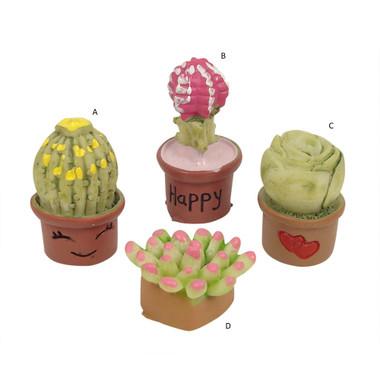 Miniature Fairy Garden Pot | Miniature Fairy Garden Accessories | Mini Potted Plant