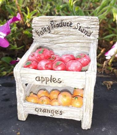 Miniature Fairy Garden Fruit   Miniature Fairy Garden Accessories   Produce Stand