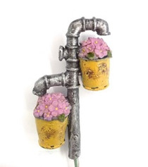 Miniature Fairy Garden Pots | Miniature Fairy Garden Accessories | Flower Water Pipe