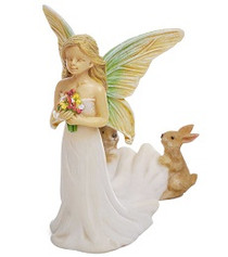 Miniature Fairy Garden Fairy | Miniature Fairy Garden Statue | Fairy Bride