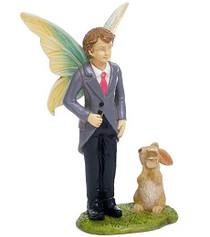 Miniature Fairy Garden Fairy | Miniature Fairy Garden Statue | Fairy Groom