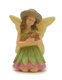 Miniature Fairy Garden Fairy | Miniature Fairy Garden Statue | Bunny Fairy