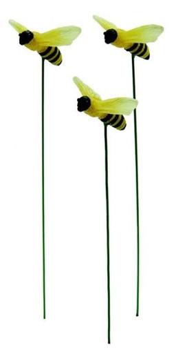 Miniature Fairy Garden Bees | Fairy Garden Animals | Bumble Bees | Glow