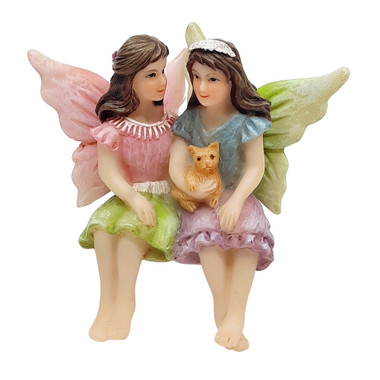 Miniature Fairy Garden Fairy   Miniature Fairy Garden Statue   Fairies and Kitty