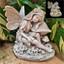 Solar Fairy Mushroom Statue -Fairytale Gardens Australia-Fairy Gardening Australia