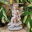 Solar Fairy Sitting Statue - Fairytale Gardens Australia - Fairy Gardening Australia