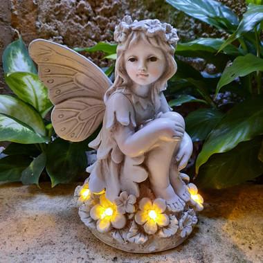 LED Fairy Statue - Fairytale Gardens Australia - Fairy Gardening Australia
