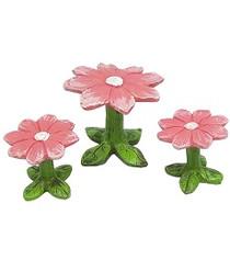 Miniature Fairy Garden Bistro | Miniature Fairy Garden Furniture | Flower Bistro Set