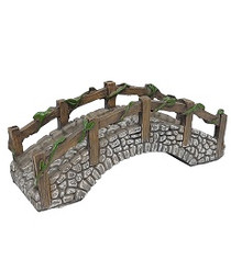 Miniature Fairy Garden Fairy - Fairy Garden Bridge - Cobblestone Bridge