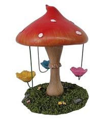 Miniature Fairy Garden Fairy - Fairy Garden Accessories - Fairy Carousel Rotating