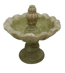 Miniature Fairy Garden Water Fountain - Fairy Garden Bird Bath - Water Fountain