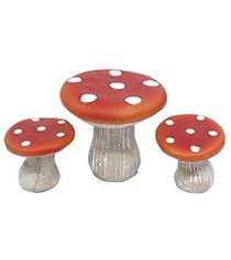 Miniature Fairy Garden Bistro | Miniature Fairy Garden Furniture | Mushroom Bistro